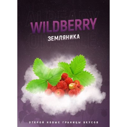 Табак 4.20 Wild Berry 100 грамм (земляника)