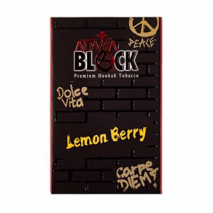 ADALYA BLACK Lemon Berry 50 гр (ягода и лимон)