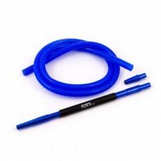 Шланг для кальяна силикон AMY DELUX SET (синий)