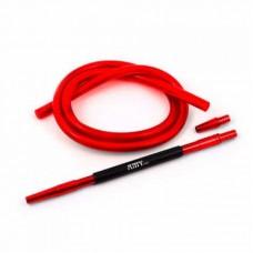 Шланг для кальяна силикон AMY DELUX SET (красный)