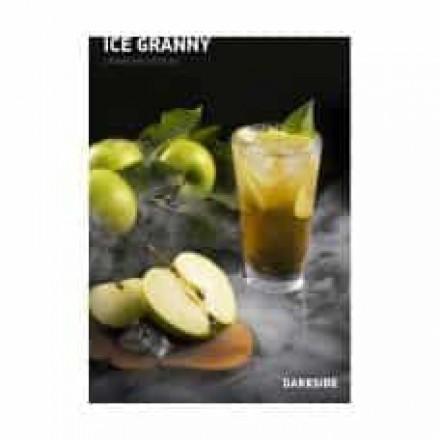 Табак Dark Side Medium Ice Granny 100 грамм (зеленое яблоко)