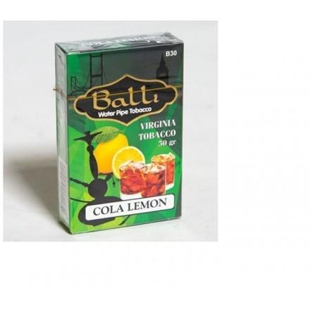 Табак Balli Cola Lemon 50 грамм (кола с лемоном)