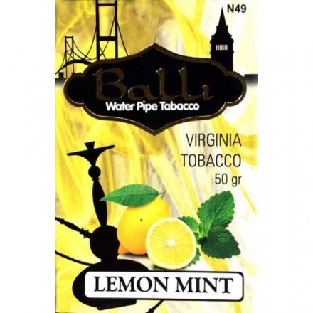 Табак Balli Lemon Mint 50 грамм (лимон мята)