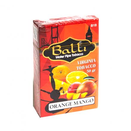 Табак Balli Orange Mango 50 грамм (апельсин манго)