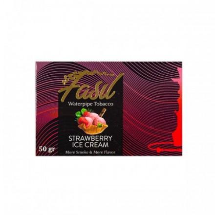 Табак Fasil Strawberry Ice Cream 50 грамм (клубничное мороженое)