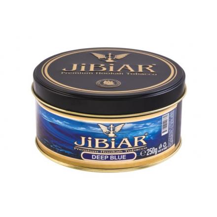 Табак JIBIAR Deep Blue 250 грамм (Голубика Ментол)