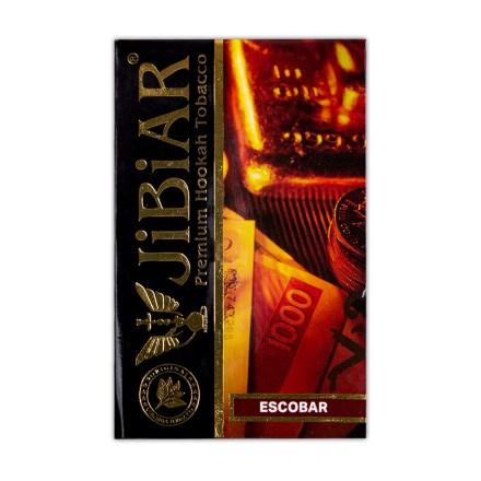 Табак JIBIAR Escobar 50 грамм (Маракуйя Персик Апельсин Лед)
