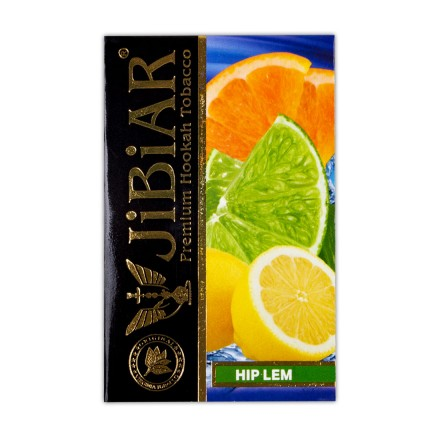 Табак JIBIAR Hip Lem 50 грамм (Лайм Апельсин Лед)