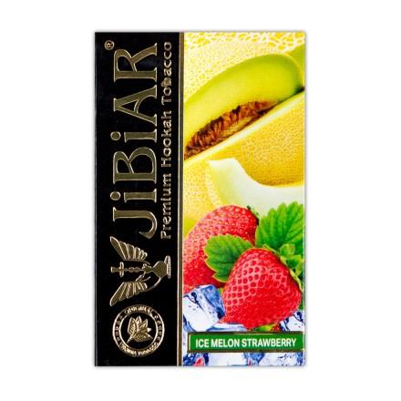 Табак JIBIAR Ice Melon Strawberry 50 грамм