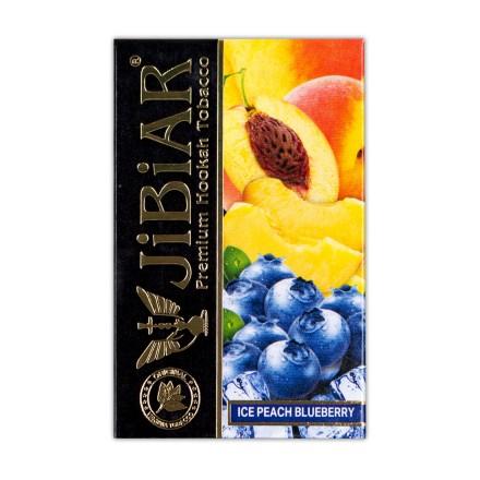 Табак JIBIAR Ice Peach Blueberry 50 грамм (Лед Персик Черника)