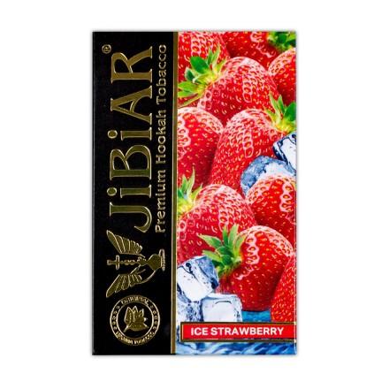Табак JIBIAR Ice Strawberry 50 грамм (Клубника Лед)