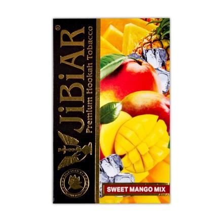 Табак JIBIAR Sweet Mango Mix 50 грамм (Лед Манго Ананас)