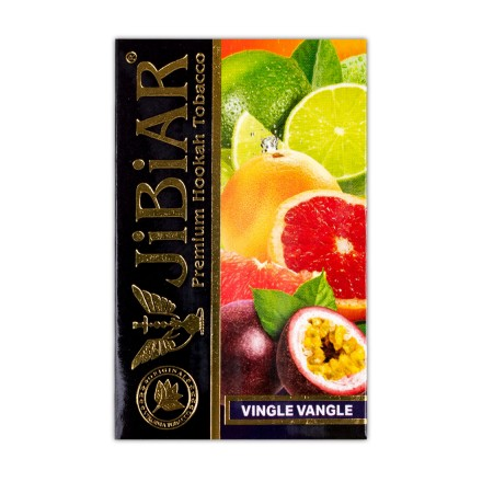 Табак JIBIAR Vingle Vangle 50 грамм (Апельсин Лайм Грейпфрут)