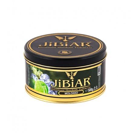 Табак JIBIAR Molokko 500 грамм (Лайм Ментол Бузина Лед)