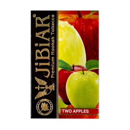 Табак JIBIAR Emirates Two Apples 50 грамм (Яблоко)
