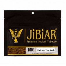 Табак JIBIAR Emirates Two Apples 100 грамм (2 ЯБлокo)
