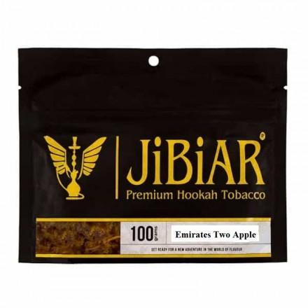 Табак JIBIAR Emirates Two Apples 100 грамм (2 ЯБлокo)