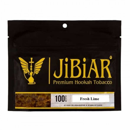 Табак JIBIAR Fresh Lime 100 грамм (Лаймовый Фреш)