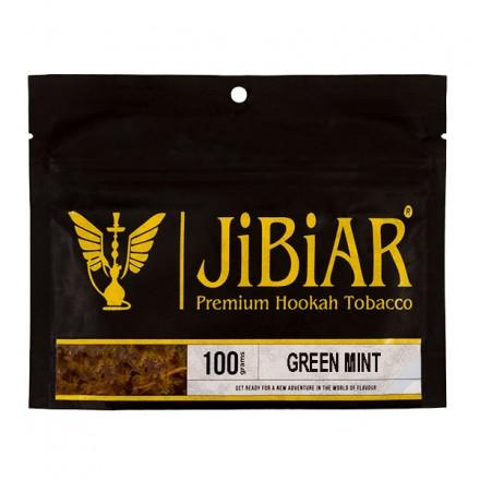 Табак JIBIAR Green Mint 100 грамм (Свежая Мята)