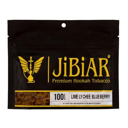 Табак JIBIAR Lime Lychee Blueberry 100 грамм (Лайм Личче Черника)