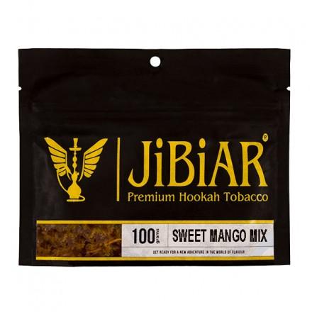 Табак JIBIAR Sweet Mango Mix 100 грамм (Лед Манго Ананас)