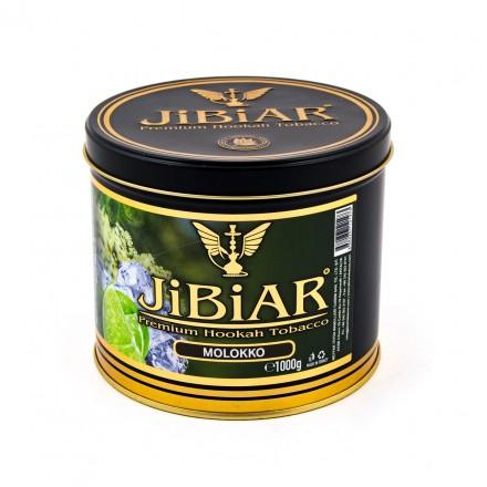 Табак JIBIAR Molokko 1 кг (Лайм Ментол Бузина Лед)