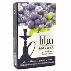 ТАБАК MAZAYA Blueberry Exotica 50g (черника)