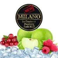 Табак Milano Ice Cranberry Raspberry Apple M132 50 грамм (лёд клюква малина яблоко)