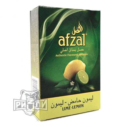 Табак Afzal — Lime Lemon (Лайм Лимон, 50 грамм)