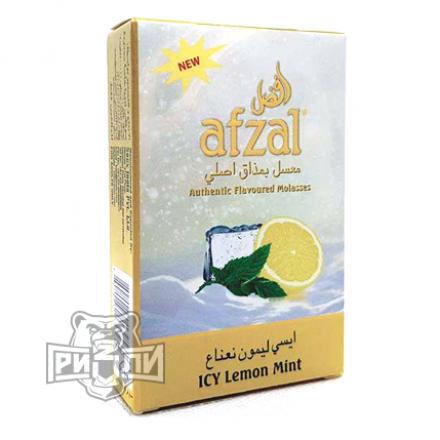 Табак Afzal — Icy Lemon Mint (Лимон с Мятой и Льдом, 50 грамм)