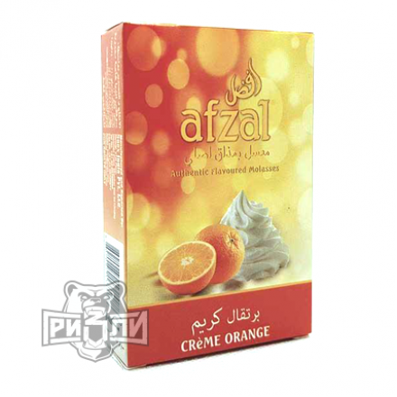 Табак Afzal — Creme Orange (Апельсин с Кремом, 50 грамм)