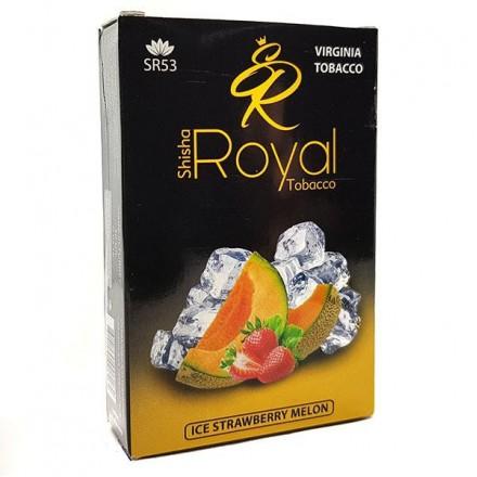 Табак Royal — Ice Strawberry Melon 50 грамм (ледяная клубника с дыней)