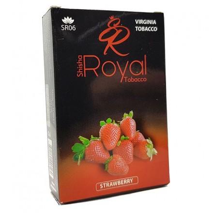 Табак Royal — Strawberry 50 грамм (клубника)