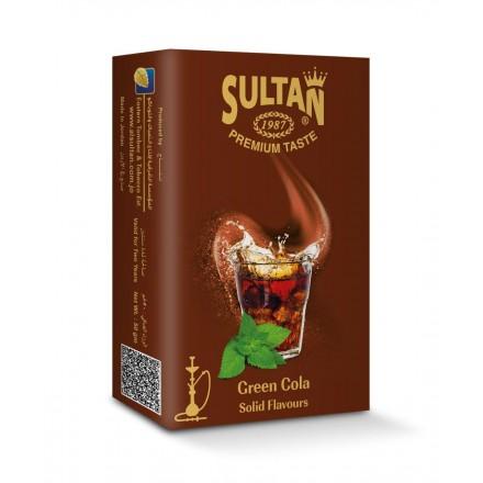 Табак Sultan Green Cola 50 гр (Кола Мята)