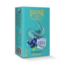 Табак Sultan Ice Blueberry 50 грамм (Ледяная Черника)