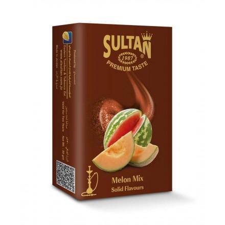 Табак Sultan Melon Mix 50 гр (Арбуз Дыня)