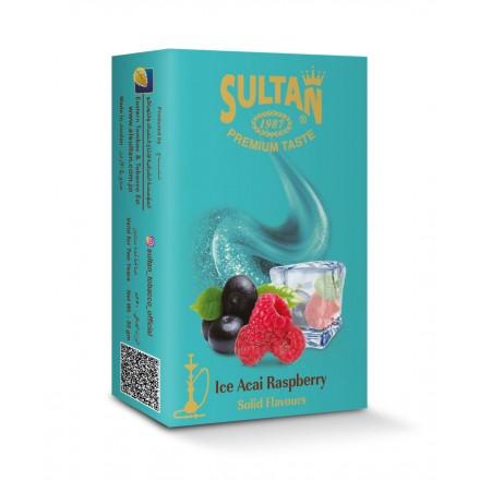 Табак Sultan Ice Acai Raspberry 50 гр (Ледяной Асаи с Ягодой)