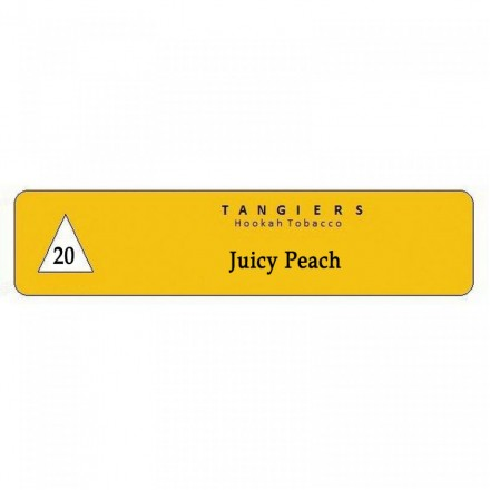 Табак Tangiers #20 Noir Juicy Peach 250 гр (Сочный и очень ароматный персик с нотками тропических фруктов)