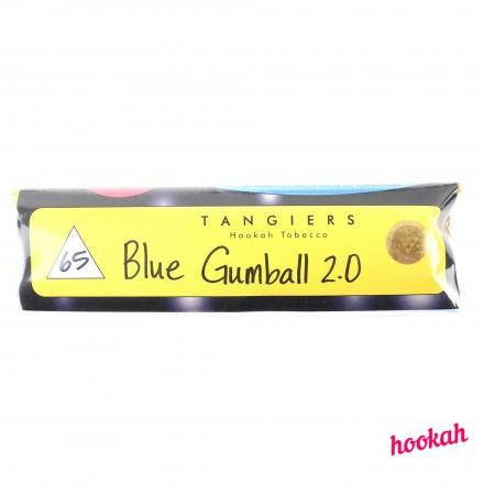 Табак Tangiers #65 Noir Blue Gumball 2.0 100 грамм (черничный аромат с привкусом терпких сладостей)