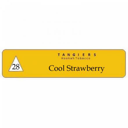 Табак Tangiers #28 Noir Cool Strawberry 250 гр (Клубничная конфета
