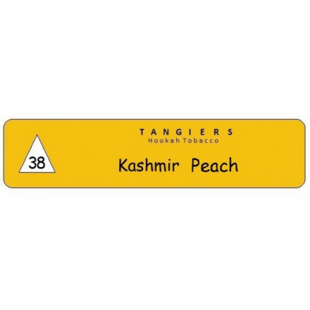 Табак Tangiers #38 Noir Kashmir Peach 250 гр (Персик с Индийскими пряностями)