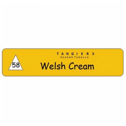 Табак Tangiers #58 Noir Welsh Cream 250 гр (Вкус карамели и Ирландских сливок, как Бейлис)