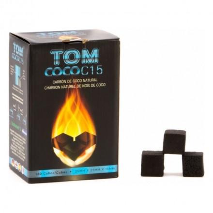 Уголь кокосовый Tom Cococha Blue C-15 (120 кубиков)