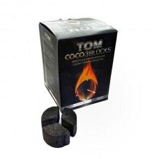 Уголь кокосовый Tom Cococha Silver (60 кубиков круглые)