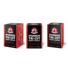 Уголь кокосовый Starbuzz Tri Cut (72 кубика под калауд)